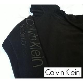 カルバンクライン(Calvin Klein)の【ラスト1着!!】 Calvin Klein フリース ジップパーカー(パーカー)