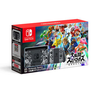 ニンテンドースイッチ(Nintendo Switch)のニンテンドースイッチ スマブラSP同梱セット(家庭用ゲーム本体)