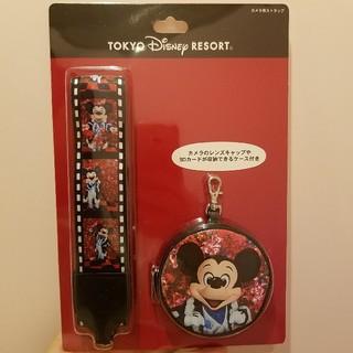 ディズニー(Disney)のイマジニング 蜷川実花 ミッキー カメラストラップ(キャラクターグッズ)