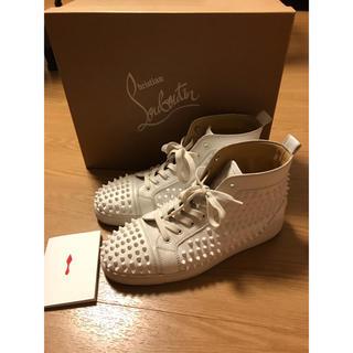 クリスチャンルブタン(Christian Louboutin)の正規品 クリスチャンルブタン  スニーカー 靴 ホワイト (スニーカー)