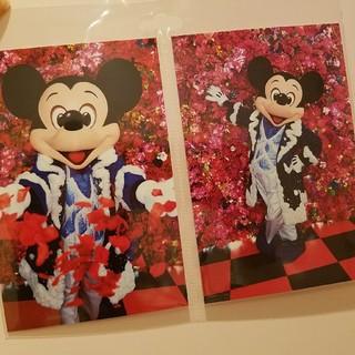ディズニー(Disney)のイマジニング 蜷川実花 ミッキー ポストカード(キャラクターグッズ)