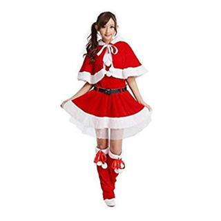 サンタクロース コスチューム サンタコス フリーサイズ(衣装)