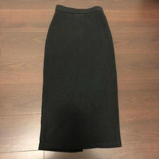 ジーユー(GU)のリブナローミディスカートCS   ジーユー(ひざ丈スカート)