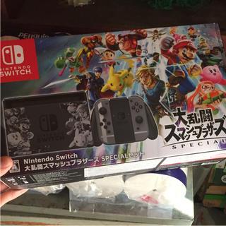 ニンテンドースイッチ(Nintendo Switch)のスイッチ 任天堂 大乱闘スマッシュブラザーズ(家庭用ゲーム機本体)