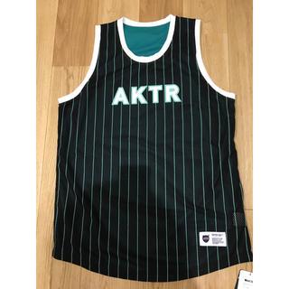 【新品未使用】AKTR アクター バスケ ゲームウェア タンクトップ XLサイズ(バスケットボール)