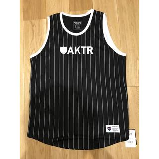 【新品未使用】AKTR アクター バスケ ゲームウェア タンクトップ(バスケットボール)