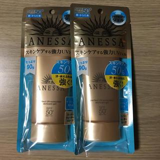 アネッサ(ANESSA)のアネッサ スキンケアジェル 90g×2(日焼け止め/サンオイル)