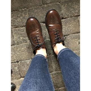 ジーユー(GU)のGU レースアップシューズ(ローファー/革靴)