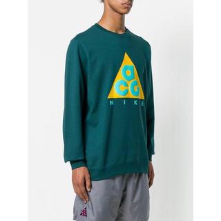 ナイキ(NIKE)の【M】新品 正規品 Nike ACG sweatshirts Green(スウェット)