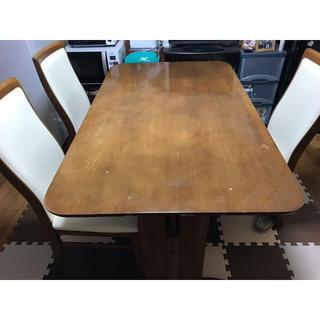 ダイニングテーブル 椅子3脚(ダイニングテーブル)