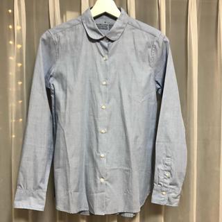 MUJI (無印良品) - 【新品未使用】無印良品 綿100% 長袖 シャツ MUJI