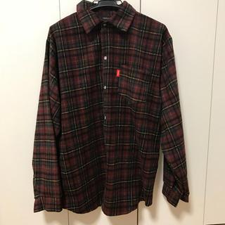 girlsrule  赤チェックシャツ(シャツ/ブラウス(長袖/七分))