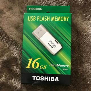 東芝 - USBフラッシュメモリ16GB 東芝