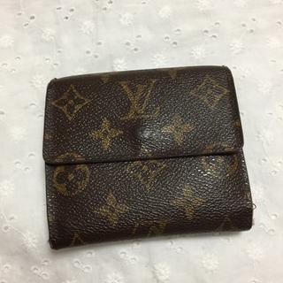 ルイヴィトン(LOUIS VUITTON)のルイヴィトン ダブルホック財布 難あり(折り財布)