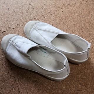アサヒシューズ(アサヒシューズ)のAsahi 上履き 白 19cm EE(スクールシューズ/上履き)