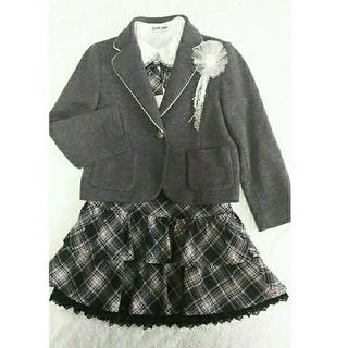 クラウンバンビ(CROWN BANBY)の女児スーツセット(120㎝) CROWN BANBY(ドレス/フォーマル)