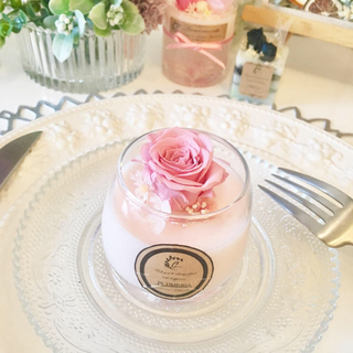 aroma wax cupcake rose ※アロマワックス