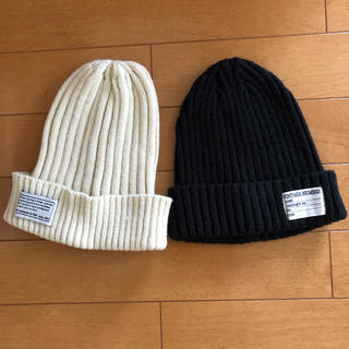 しまむら - ニット帽 2個セット