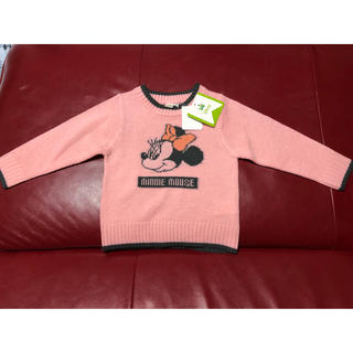 ディズニー(Disney)の新品 ミニー  セーター 100(ニット)
