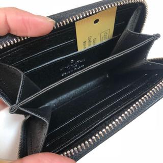 ルイヴィトン(LOUIS VUITTON)のコインケース / 小銭入れ ダミエ柄 黒(長財布)