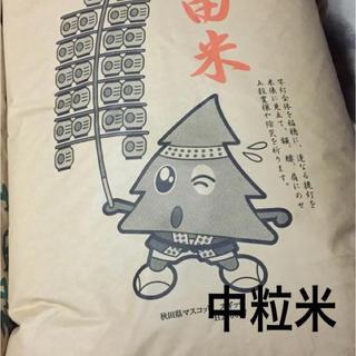 【あや様 専用】平成30年度あきたこまち中粒米25Kg(米/穀物)