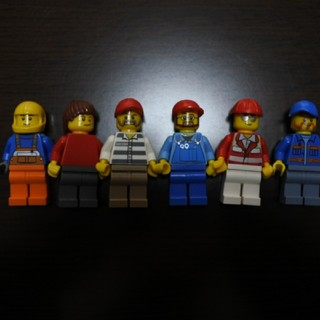 レゴ(Lego)のレゴフィグ(積み木/ブロック)