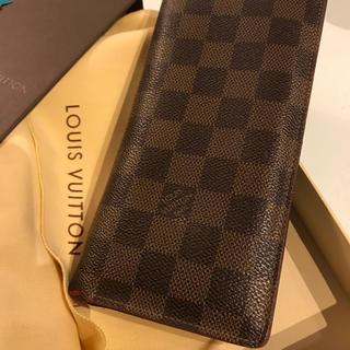 ルイヴィトン(LOUIS VUITTON)の最安 ルイヴィトン   ダミエ 長財布 正規品(長財布)