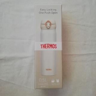 サーモス(THERMOS)のサーモス 水筒 0.5L パールホワイト JNL-502(水筒)