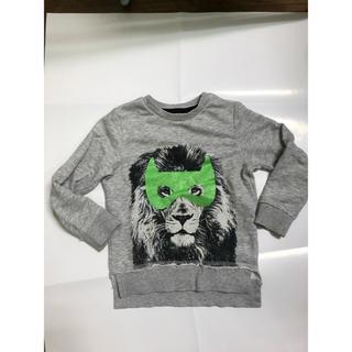 エイチアンドエム(H&M)のH&Mキッズスウェットトレーナー子供服ロンT100サイズ男の子(Tシャツ/カットソー)