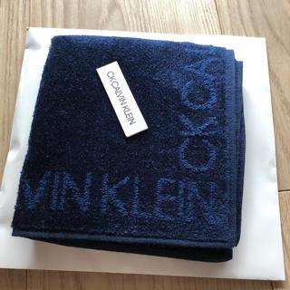 カルバンクライン(Calvin Klein)のカルバンクライン タオルハンカチ(ハンカチ/ポケットチーフ)