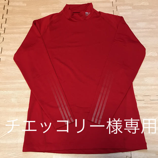 アディダス(adidas)のadidas  スポーツウェア ゴルフ メンズ Sレッド(ウエア)