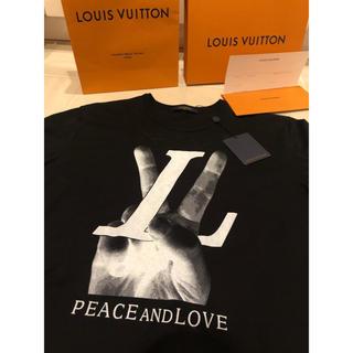 ルイヴィトン(LOUIS VUITTON)の☆Louis Vuitton新宿店購入☆ピース&ラブTee(Tシャツ/カットソー(半袖/袖なし))