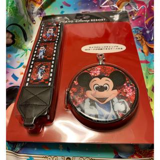 ディズニー(Disney)のディズニーランド   イマジニングザマジック   カメラストラップ   ミッキー(ネックストラップ)