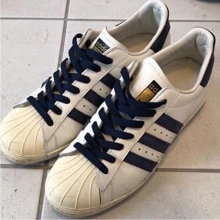 アディダス(adidas)のadidas アディダス スーパースター80's ネイビー(スニーカー)