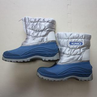 イグニオ23cmスノーブーツ/雪用 長靴(ブーツ)