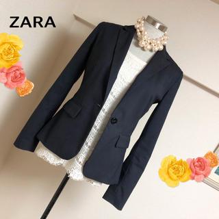 ザラ(ZARA)のザラの上品な大人カジュアルテーラードジャケット◆34(テーラードジャケット)