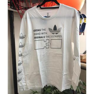 アディダス(adidas)のアディダス オリジナルス  ロンT 新品 Mサイズ(Tシャツ/カットソー(七分/長袖))