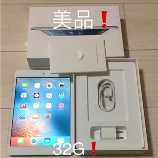 アップル(Apple)の【美品】備品完備!Apple  iPad mini 32G wifiモデル(タブレット)