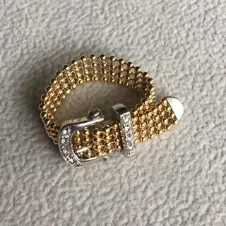k18  pt900 ベルトリング(リング(指輪))
