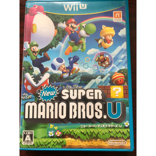 ウィーユー(Wii U)のNewスーパーマリオブラザーズ U(携帯用ゲームソフト)