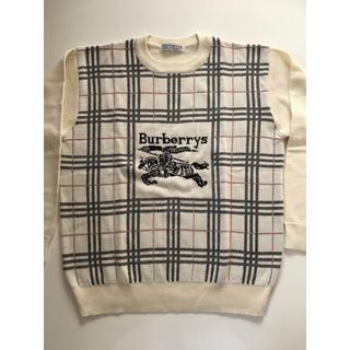 バーバリー(BURBERRY)の☆超希少・高級品・Burberrys☆ビッグロゴ☆バーバリー☆big logo☆(ニット/セーター)