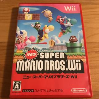 ニンテンドウ(任天堂)のWii ニュースーパーマリオブラザーズ(家庭用ゲームソフト)
