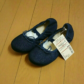 ムジルシリョウヒン(MUJI (無印良品))の女児 おしゃれ靴 19cm 無印良品 (未使用品)(フォーマルシューズ)