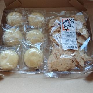 専用! 萩の月6個 かきせんべい お菓子(菓子/デザート)