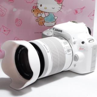Canon - ☆大人気のホワイト☆Canon Kiss x7 レンズキット♪☆