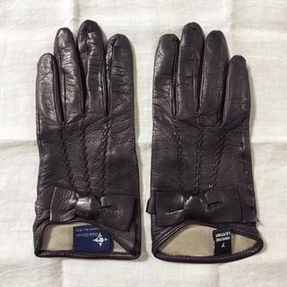トゥモローランド(TOMORROWLAND)のGala Gloves リボングローブ(手袋)