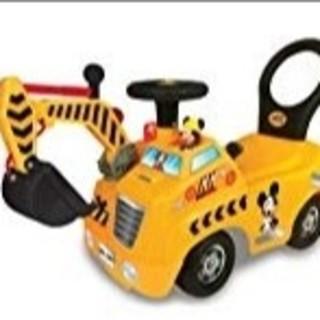 ディズニー(Disney)の新品 新品 ディズニーライドオン ショベルカー(電車のおもちゃ/車)