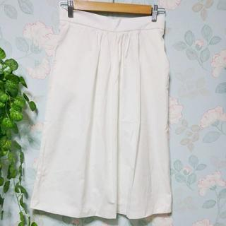 ザラ(ZARA)の白スカート (ロングスカート)