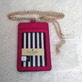 ケイトスペードニューヨーク(kate spade new york)の新品 ケイト・スペード パスケース 定期入れ カードケース(パスケース/IDカードホルダー)