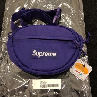 シュプリーム(Supreme)の【新品】supreme waist bag パープル 紫 ウエストバッグ(ウエストポーチ)
